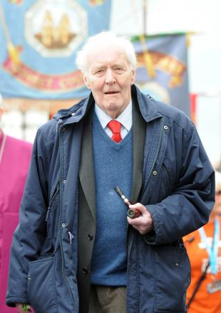 Tony Benn at the Tolpuddle Martyrs Festival in 2012