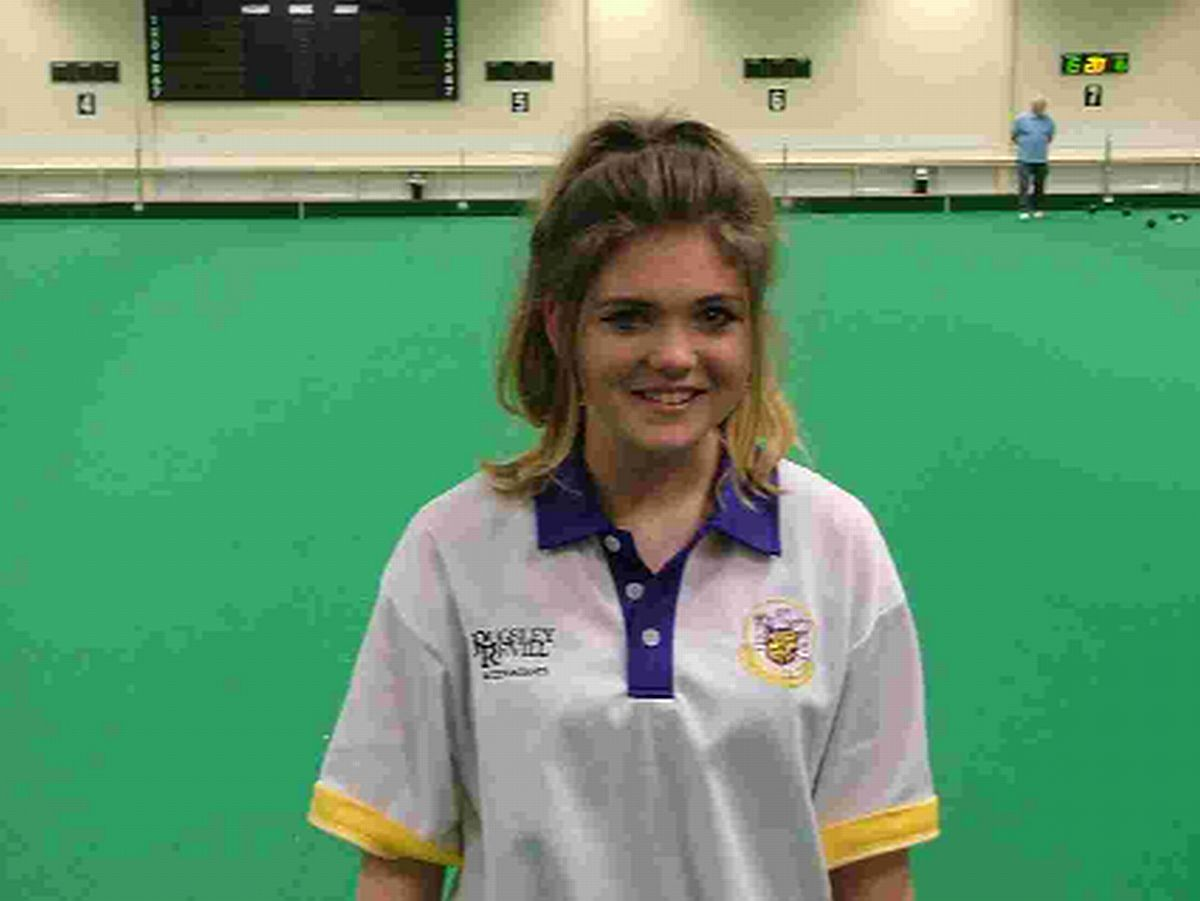 STAR POTENTIAL: Dorchester's  Louise Woodrow