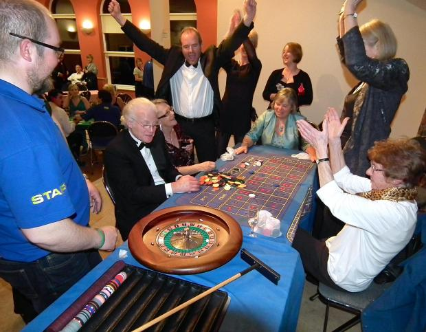 Osmington Casino Night a Winner