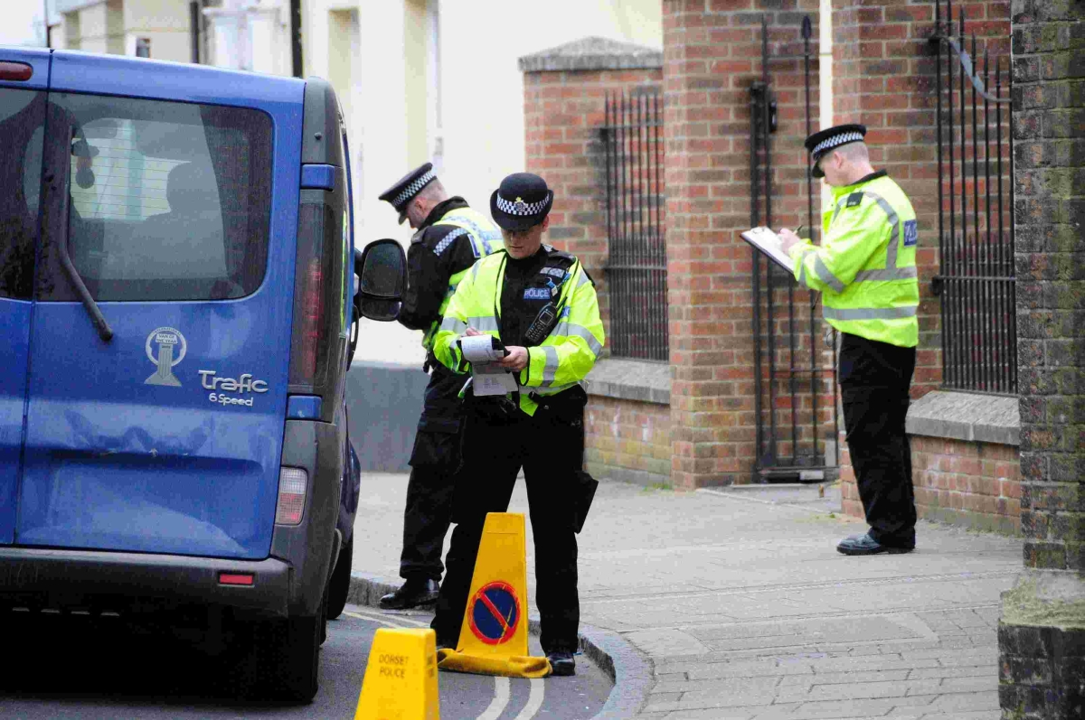 Police carry out road safety blitz in Dorchester