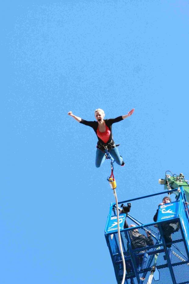 Dorset Echo: JUMPING FOR JOY: There will be an opportunity to bungee jump at this year's carnival