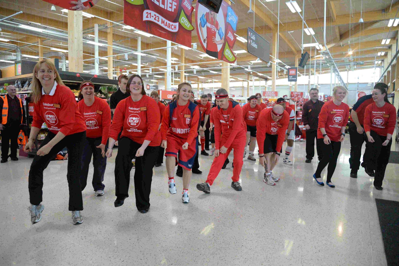 VIDEO: People across the county get active for Sport Relief