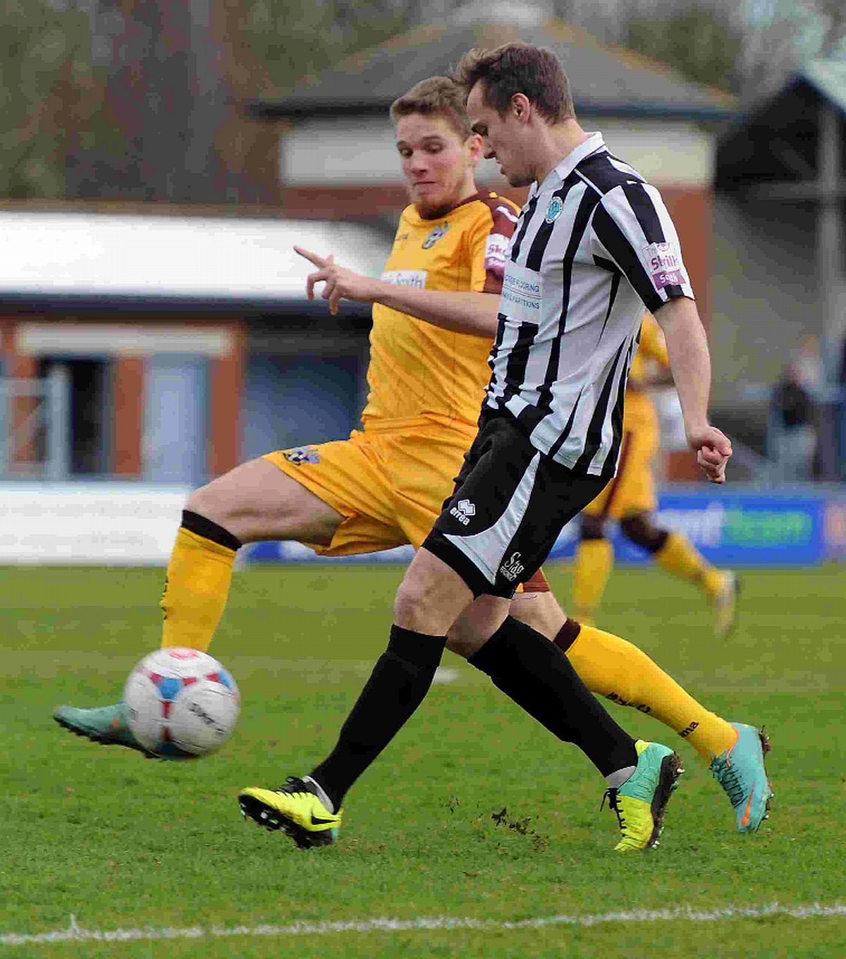 VITAL POINT: Jake Smeeton helped earn the Magpies a 0-0 draw against Sutton on Saturday