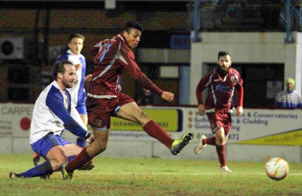 Dorset Echo: MATCH WINNER: Isaac Vassell