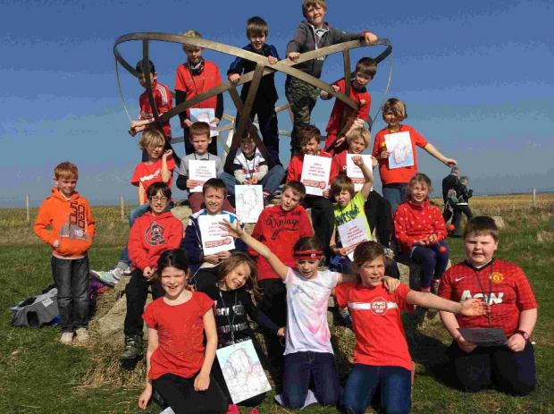 MILES OF SMILES: Pupils in the Purbecks