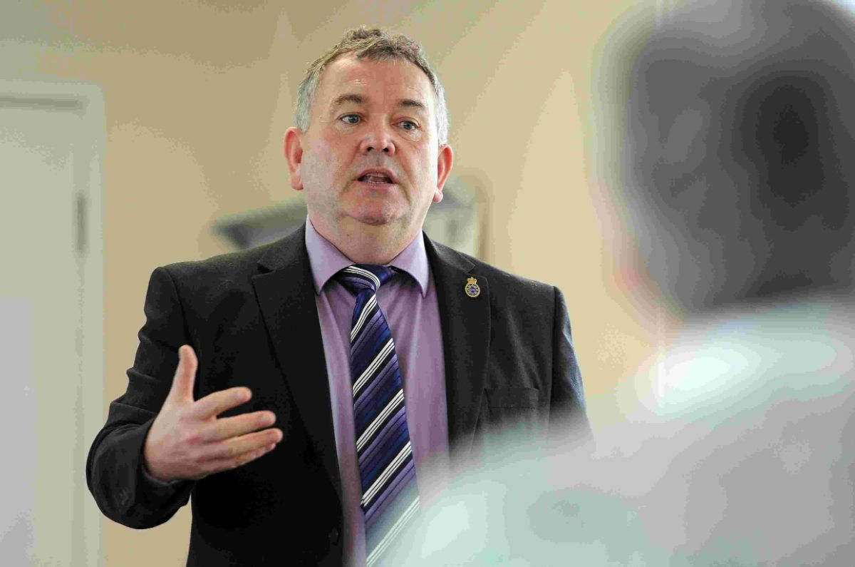answering questions: PCC Martyn Underhill holding forum in Dorchester