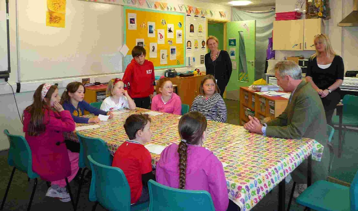 QUIZZED: Richard Drax MP answers children's questions