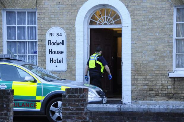 Emergency services called to incident at Weymouth hotel
