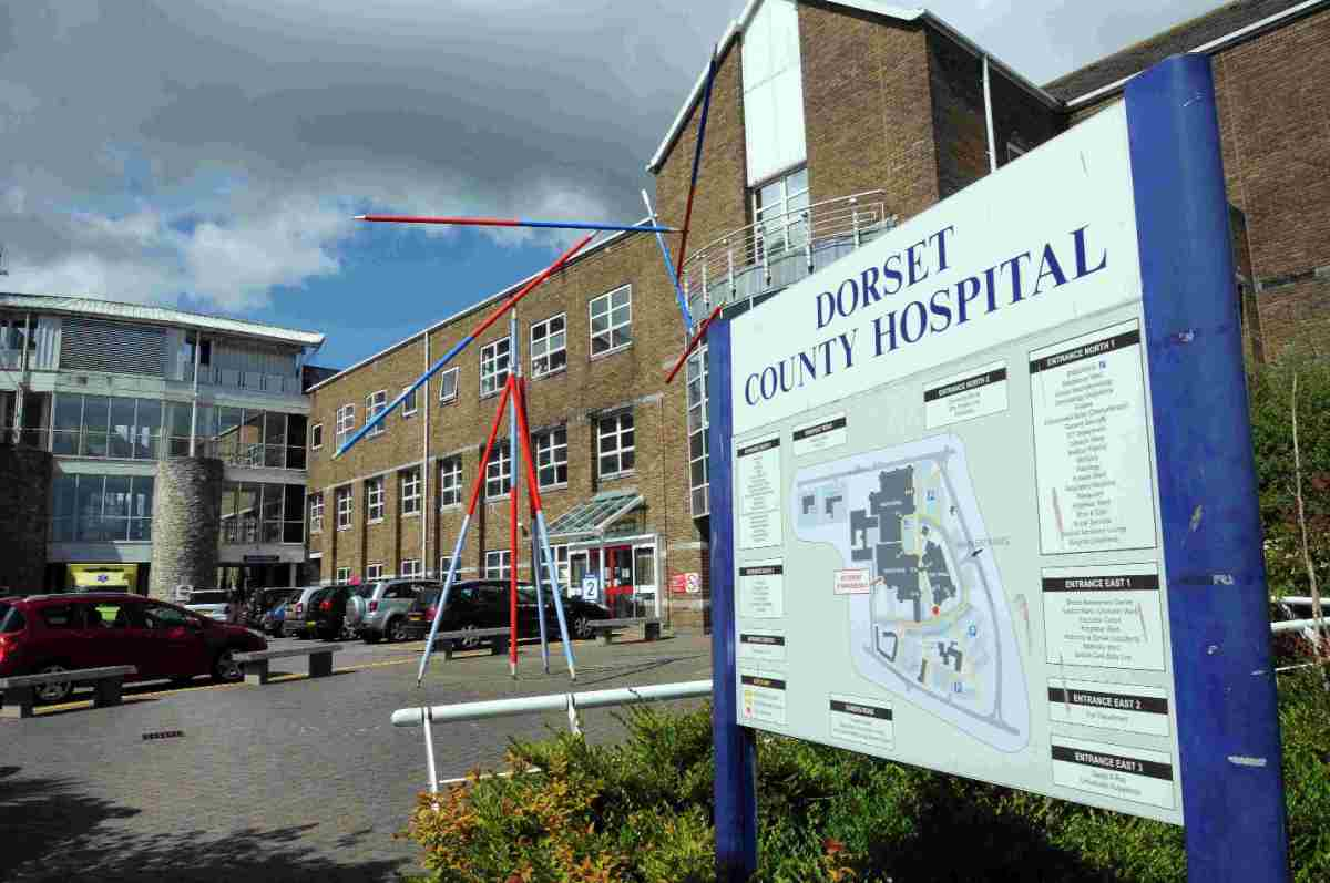 HIGH COST: Missed appointments cost Dorset County Hospital nearly £3m.