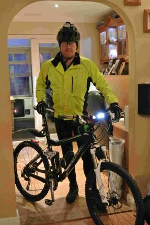 Anthony Snelling of Bridport set to take on the extreme bike ride