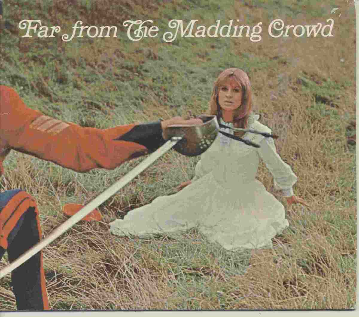 A film brochure of Far From The Madding Crowd, starring Julie Christie and Terence Stamp