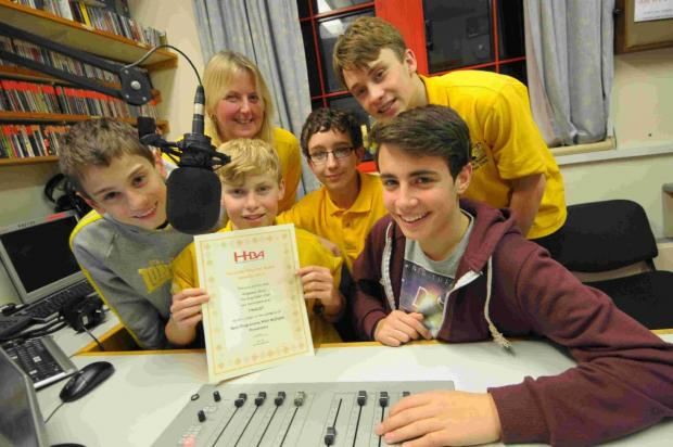 'A FANTASTIC TEAM': Ridgeway Radio young  volunteers