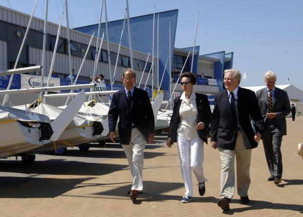Princess Anne to visit Weymouth and Portland for prestigious sailing event