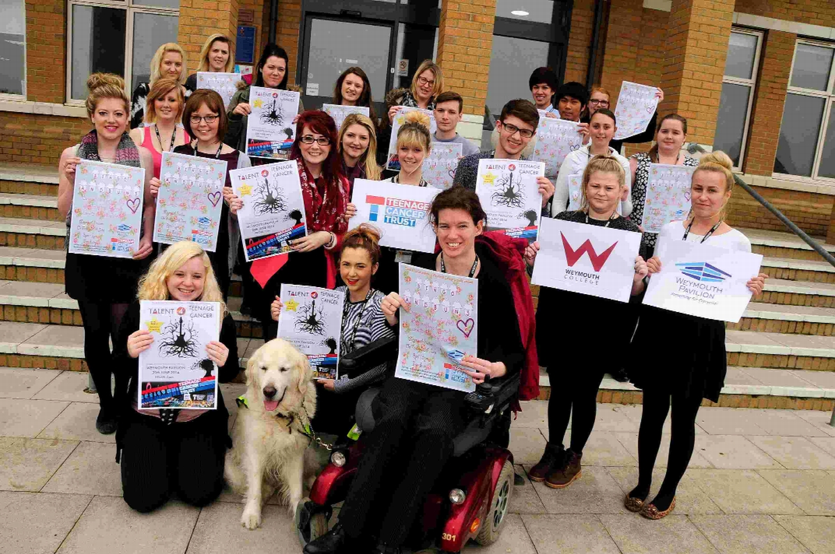Weymouth College students organising event for Teenage Cancer Trust