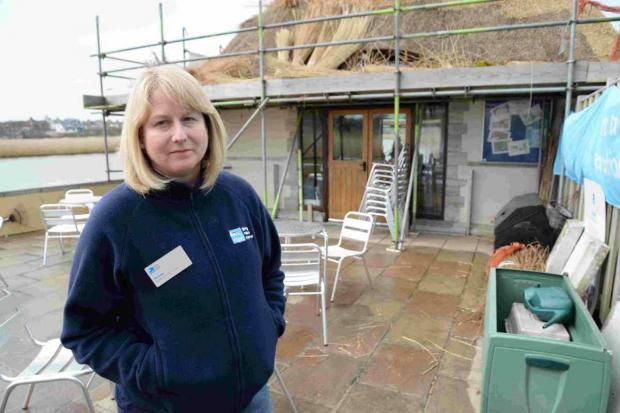 ATTACKS: Michelle Williams at Radipole RSPB centre