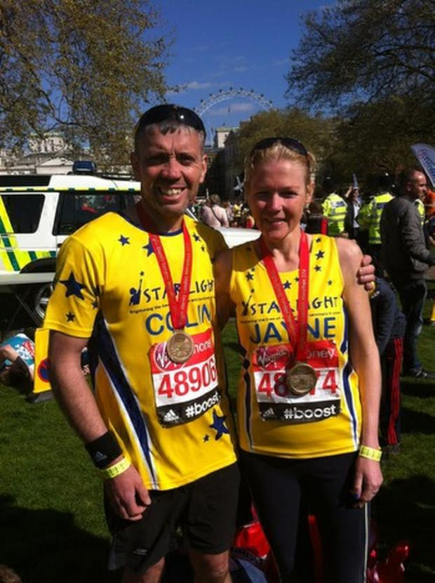 Dorset Echo: FINISHED: Colin and Jayne Bailey