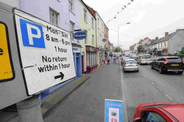 PARKING RETHINK: There wll be new plans for on-street parking