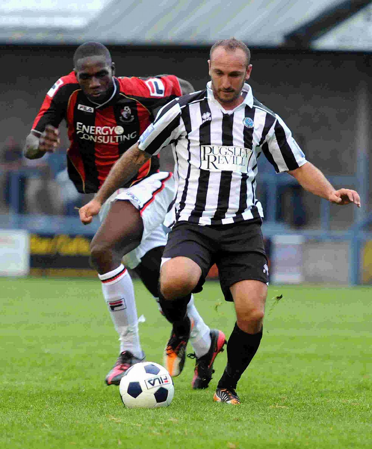 BIG LOSS: Striker Ben Watson was among a number of high-profile players who left the club this season