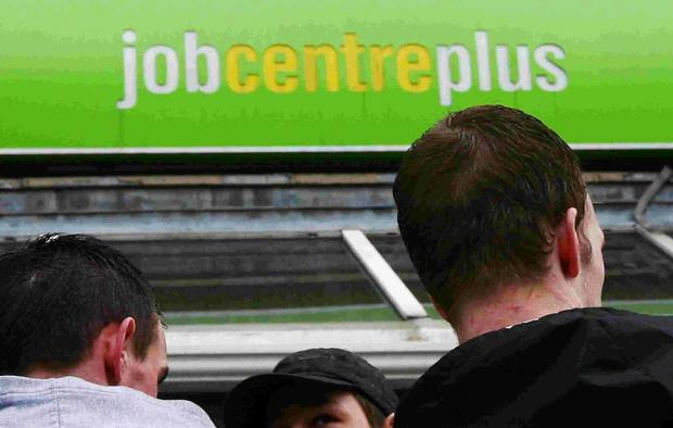 Jobseeker's allowance figures show a marked decline