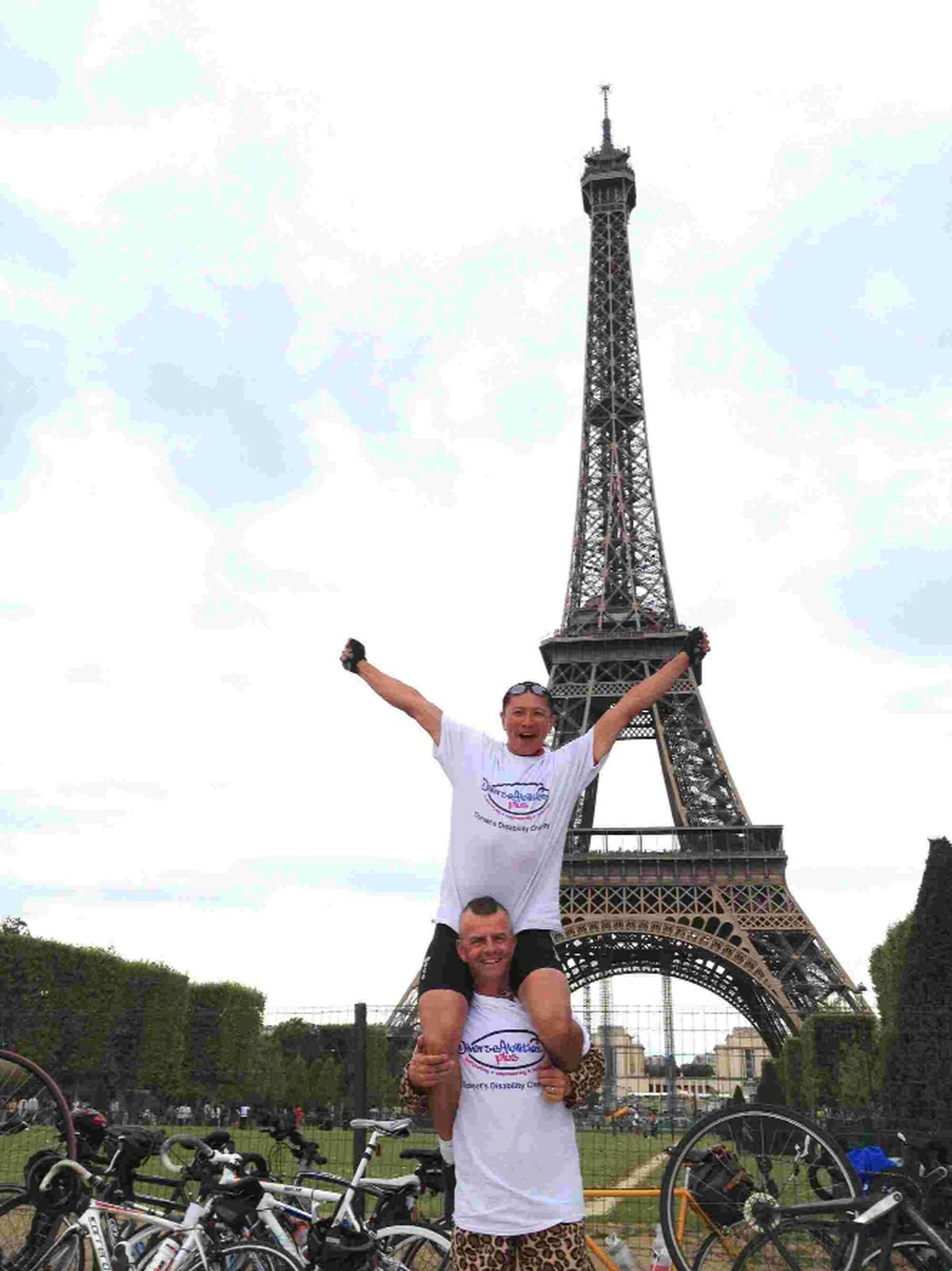 Diverse Abilities Plus seeks cyclists for London to Paris Bike Ride