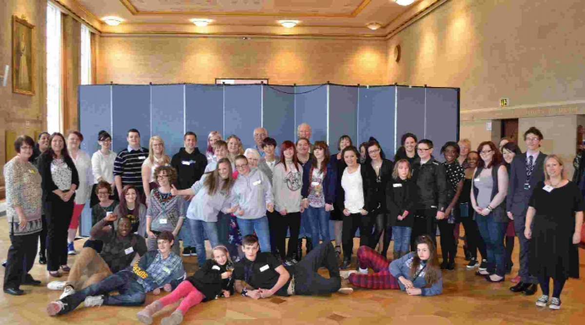 Youngsters in care and care leavers gathered to give their ideas about improvements to s