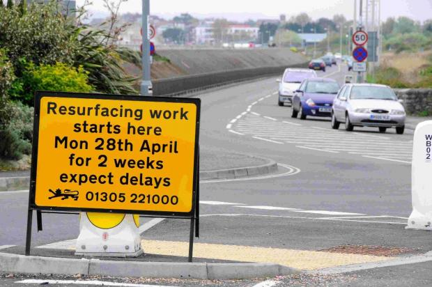 SIGN ON THE TIMES: Resurfacing work to start on Preston Beach Road
