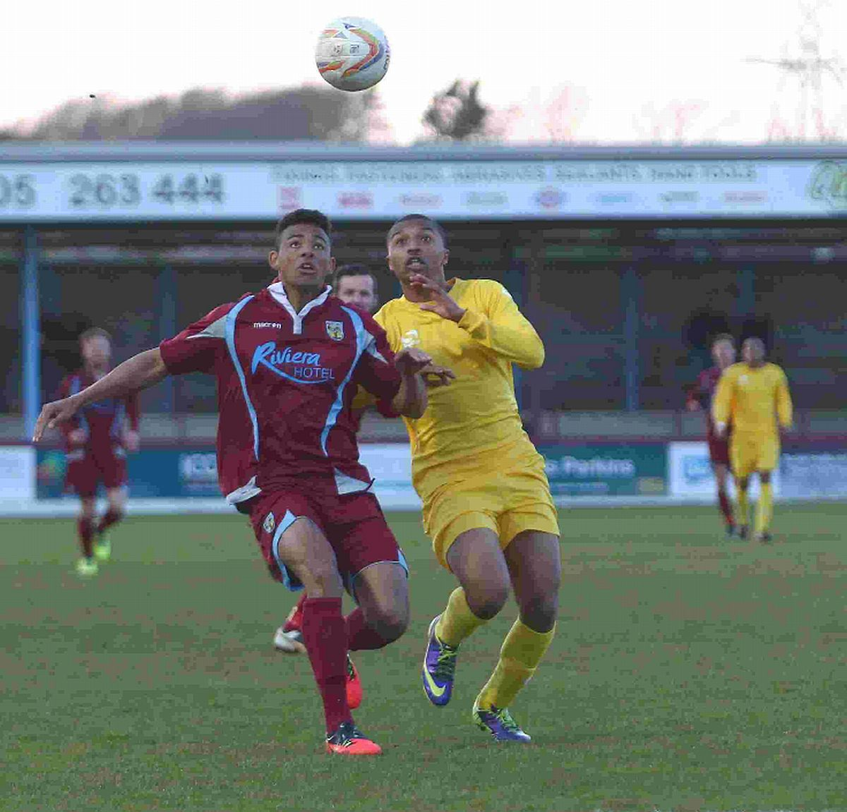 ENJOYED HIS TIME AT WEYMOUTH: Isaac Vassell