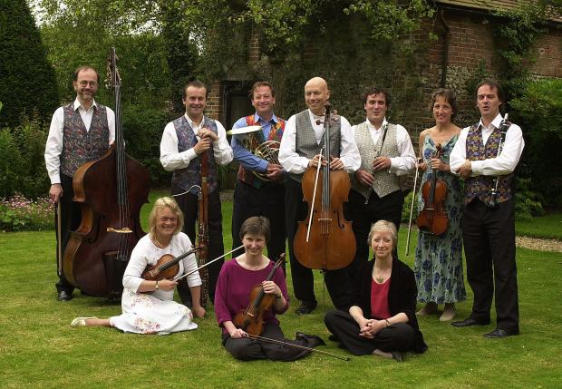 The Gaudier Ensemble are all set to baroque and roll at Cerne Abbas Music Festival