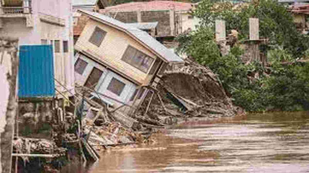 DISASTER: Devastation in the Soloman Islands following tropical storms and earthquakes