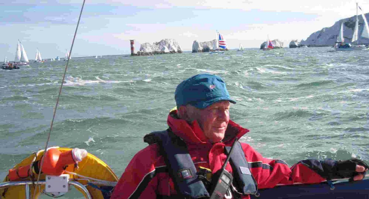 HOPEFUL: John Kirby in sailing mode
