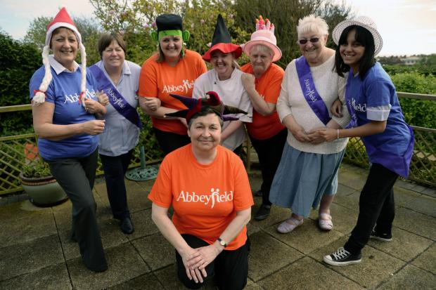 Walkers put best foot forward for charity event