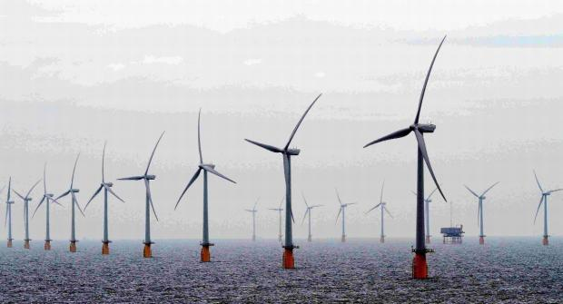 Dorset Echo: Giant windfarm passes first planning phase