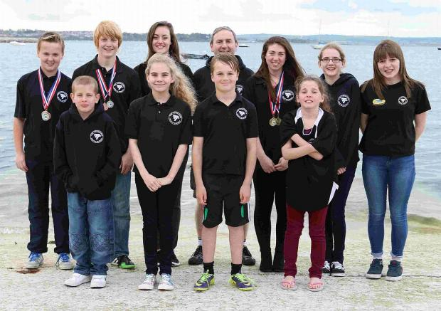 Dorset Echo: ISLAND SHOW: Tornadoes at the Swim Bournemouth Open meet