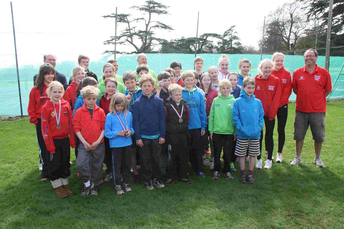 COUNTY SHOW: Dorset Pentathletes team at Leweston School