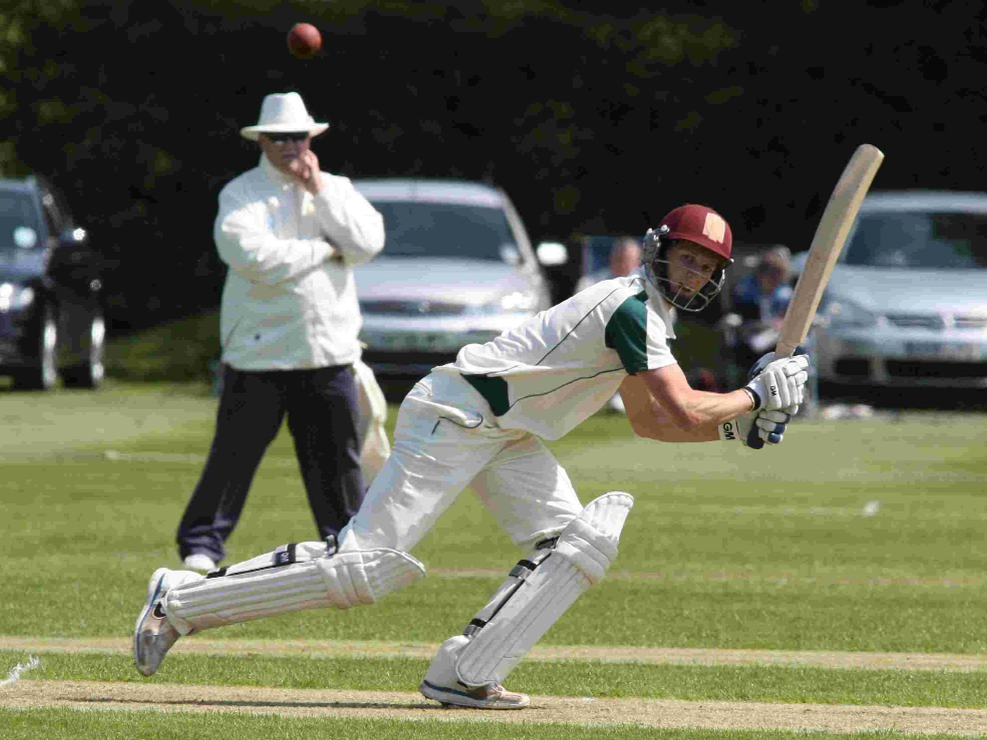 HAILED: Max Waller finished on an unbeaten 91 at Dean Park