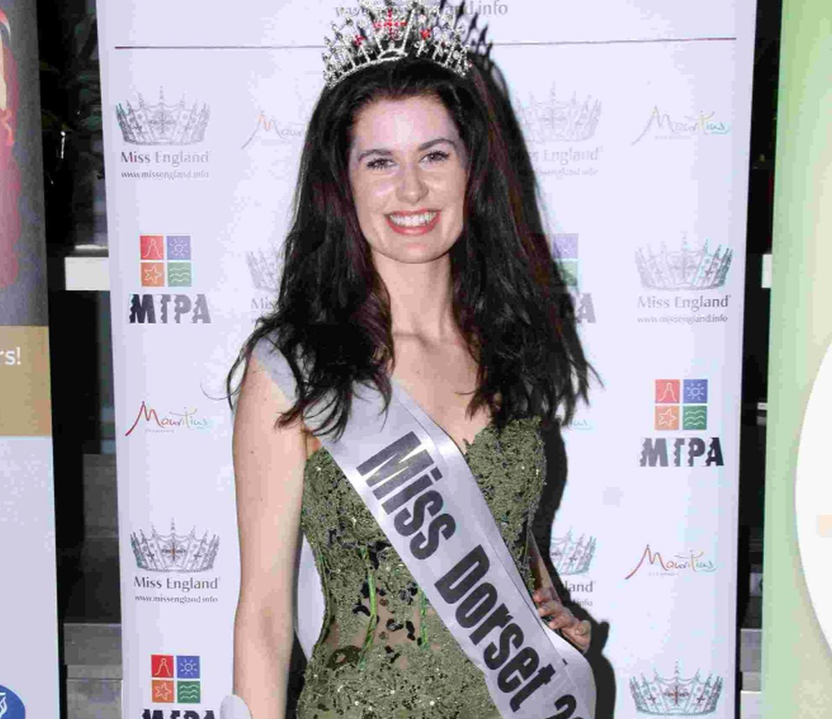 Dorchester student Holly crowned Miss Dorset