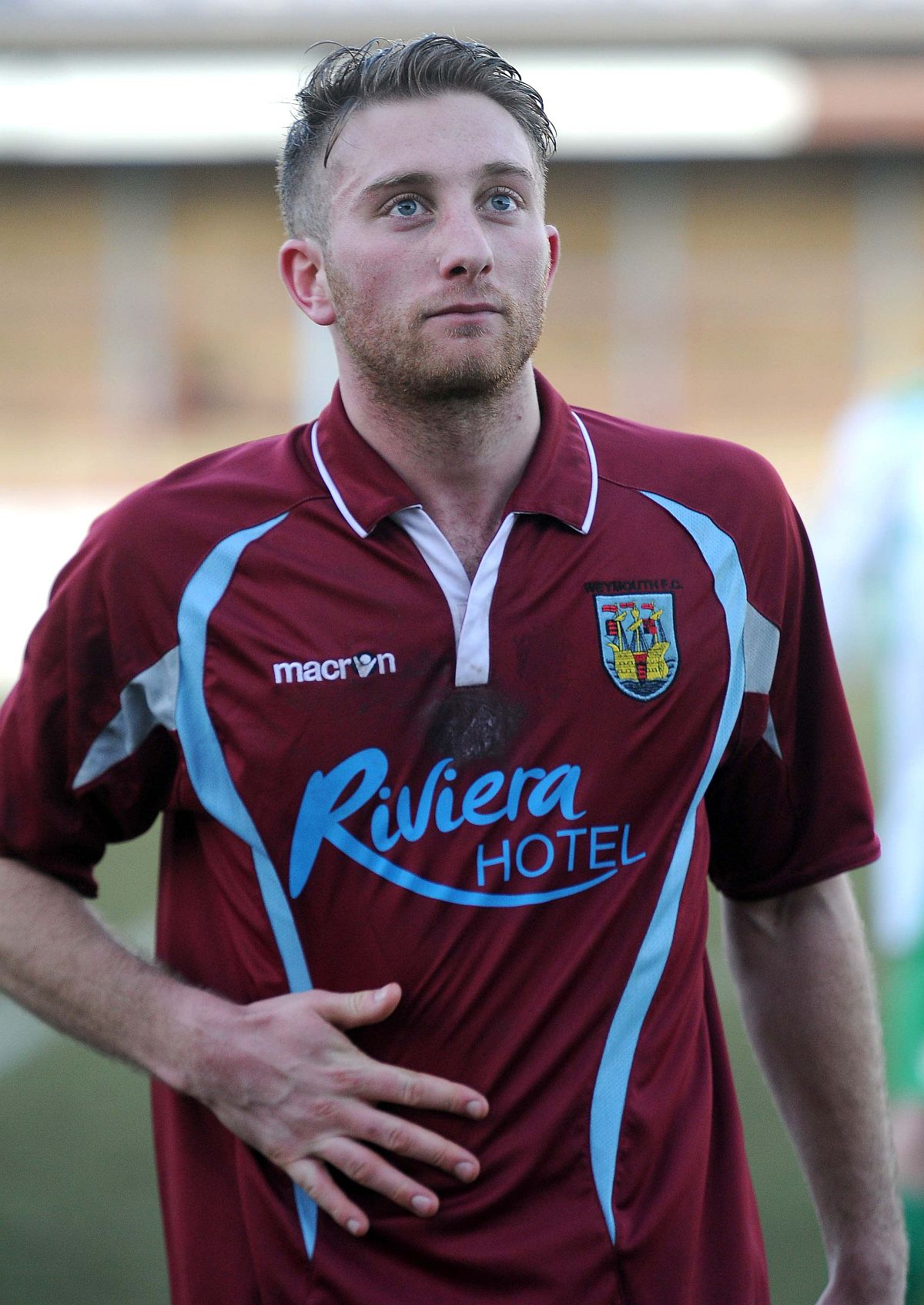 DONE DEAL: Weymouth's Steve Colwell