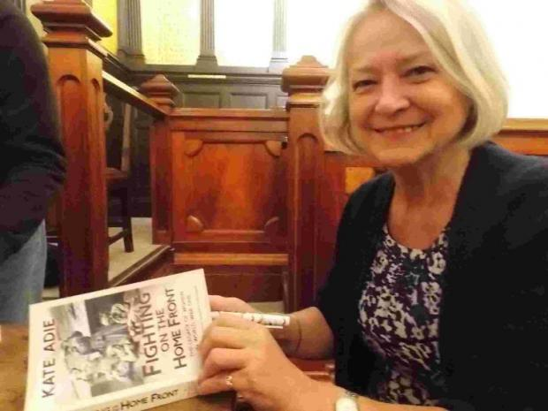 BOOK TALK: Kate  Adie giving a talk at Bridport Town Hall with new book on women in the First World War