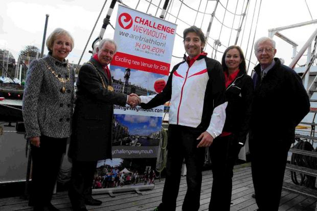Weymouth to host major European sporting event