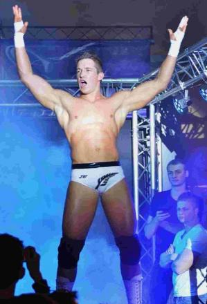 READY FOR ACTION: Jay White