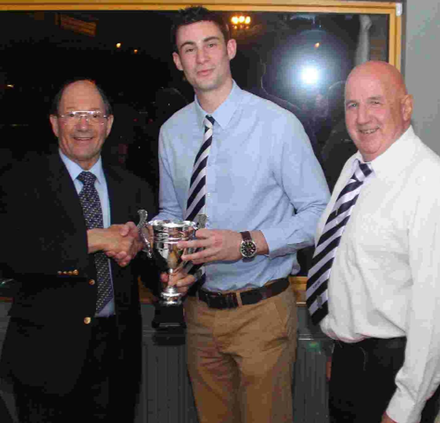 WINNER: Players' Player Mike Pibworth