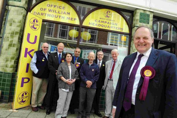 LISTENING: UKIP MEP William Dartmouth in Dorchester