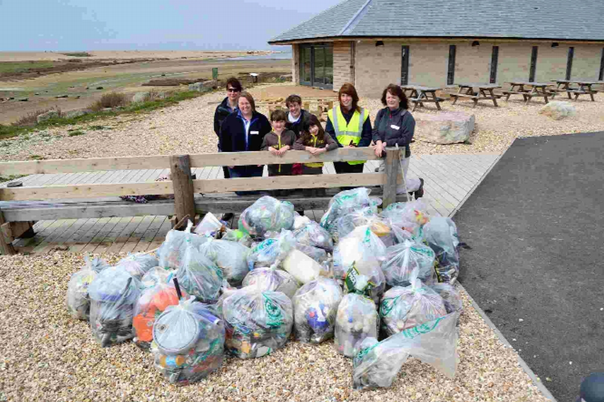 County beaches get a clean sweep