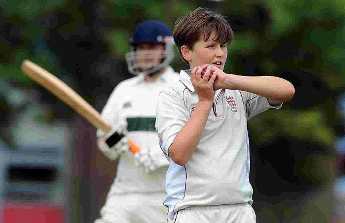 MAKING FIRST-TEAM DEBUT: Bowler Joe James
