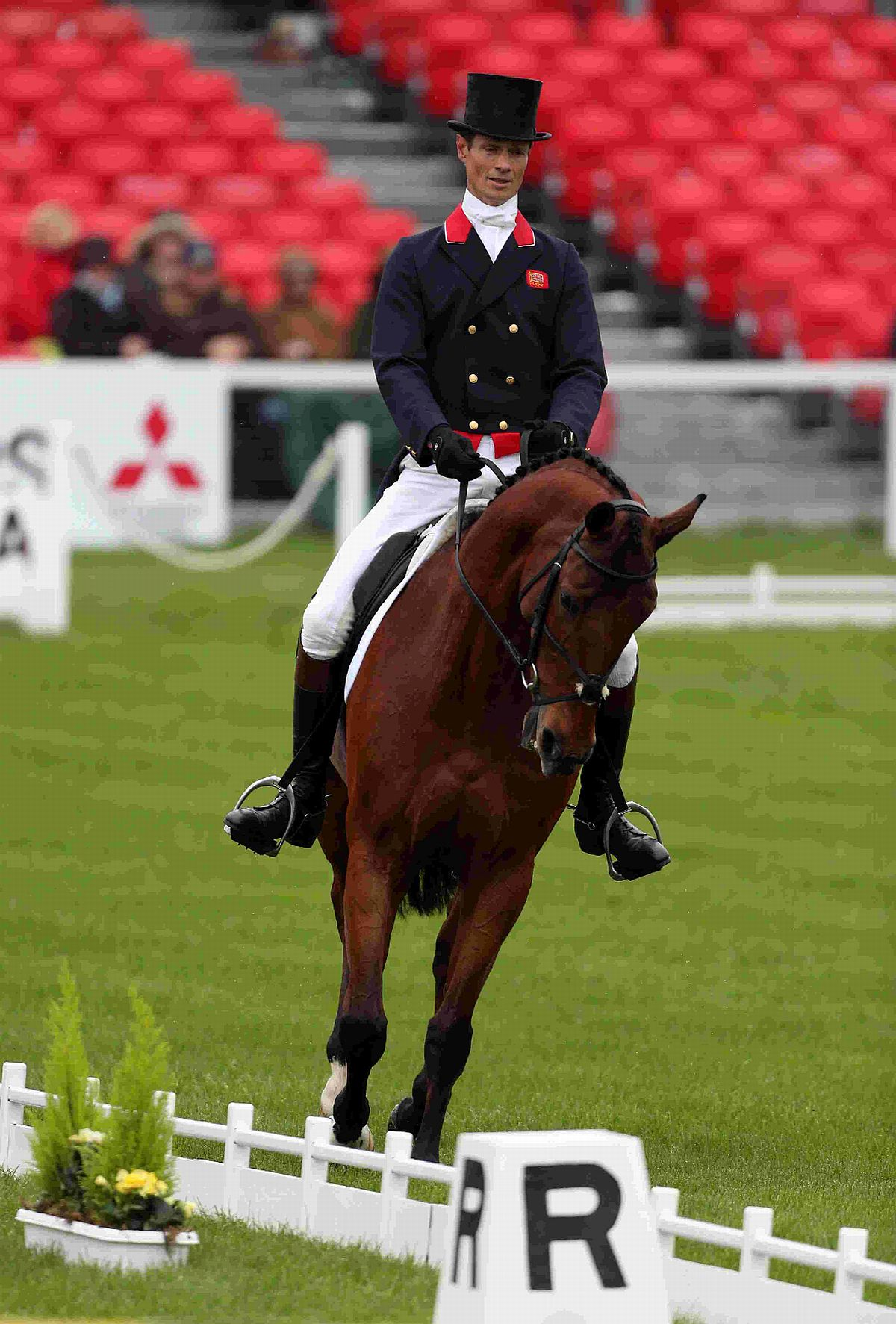 BUSY SUMMER: William Fox-Pitt