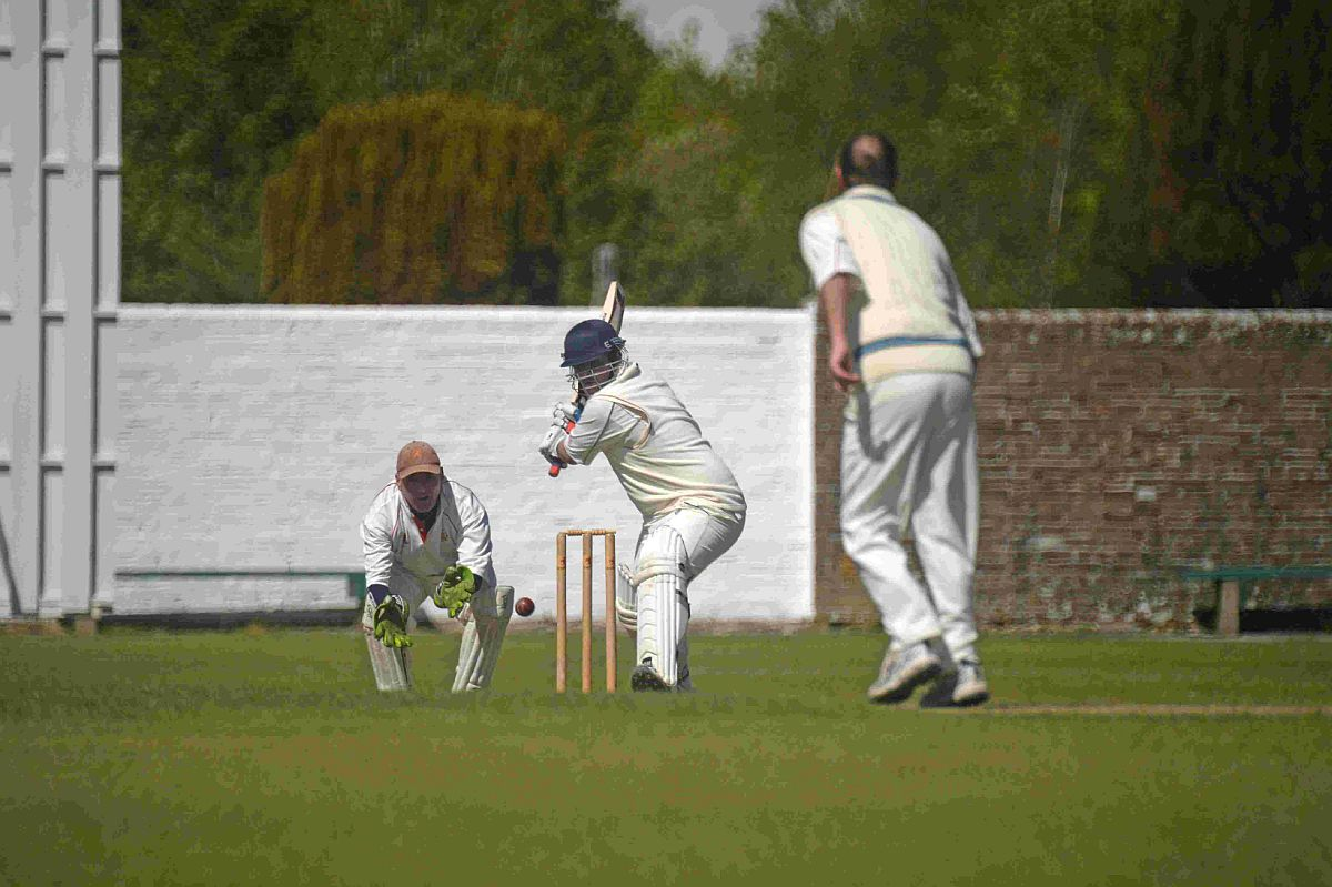 UNBEATEN: Rich Cole hit 72 for St George's