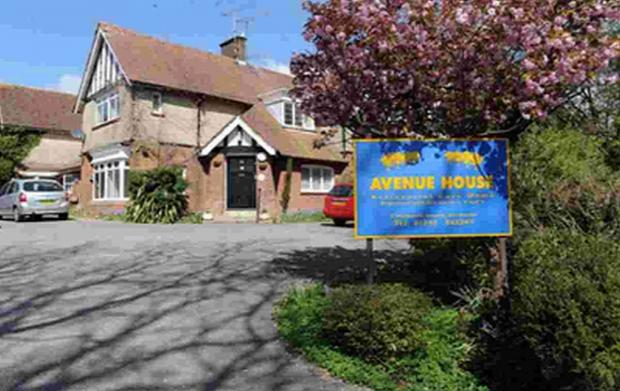 Avenue House Care Home, Dorchester, which is one of the homes under scrutiny
