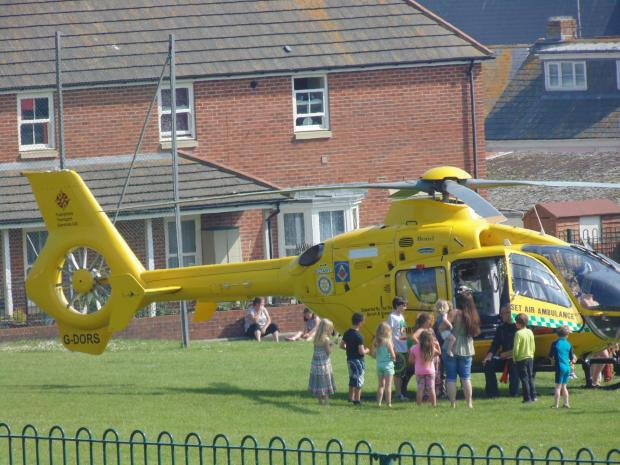 Air ambulance launched after child suffers allergic reaction