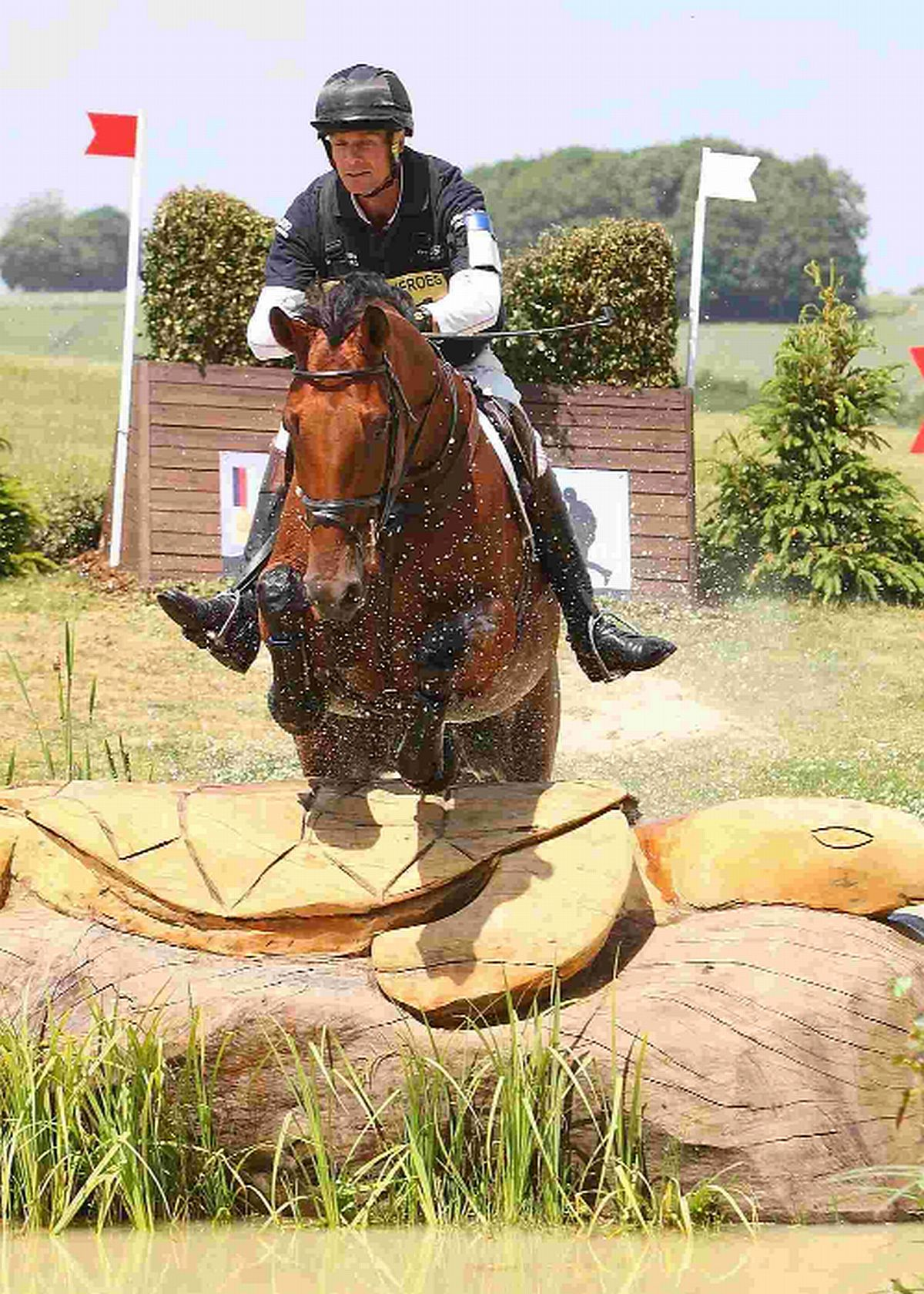 OVER SAFELY: William Fox-Pitt on Cool Mountain
