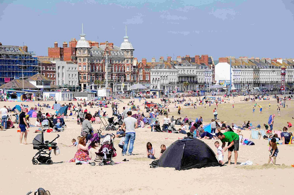 Weymouth Beach named one of the best in Britain